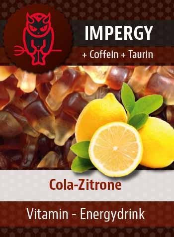 IMPERGY Cola-Zitrone